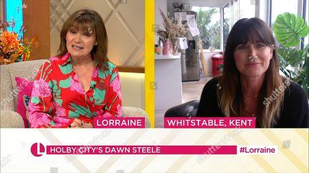 Editorial image of 'Lorraine' TV Show, London, UK - 09 Nov 2020