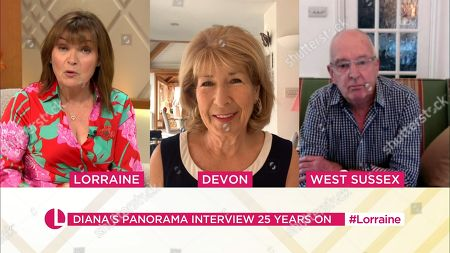 Lorraine Kelly, Jennie Bond and Tony Poole