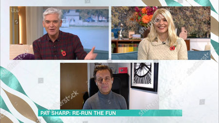 Phillip Schofield, Holly Willoughby and Pat Sharp