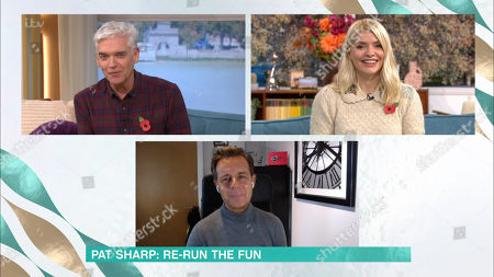 Stock Photo of Phillip Schofield, Holly Willoughby and Pat Sharp