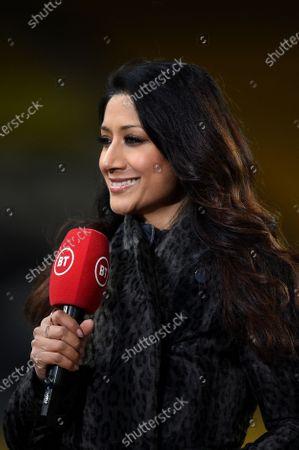 Reshmin Chowdhury presenter for BT Sport.