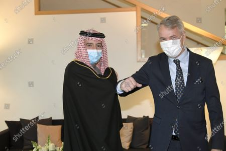 Editorial image of Saudi Minister of State for Foreign Affairs Adel al-Jubeir visits Finland, Helsinki - 09 Nov 2020