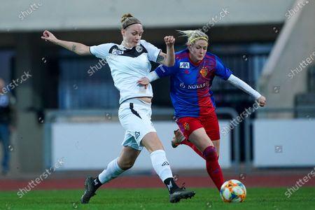 Editorial image of FC Basel 1893 v FC Lugano Femminile, AXA Women's Super League, Football, St Jakob Athletics Stadium, Basel, Switzerland - 07 Nov 2020