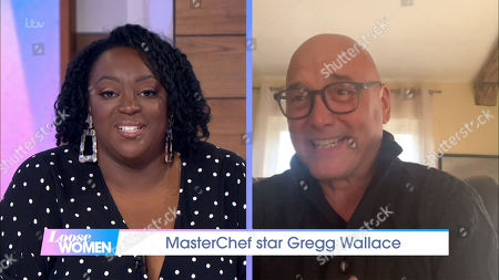 Judi Love and Gregg Wallace