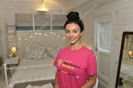 Stock Picture of Love Island's Kady McDermott is fronting the raffle of a £475k Sussex beach home, which is up for grabs in a prize draw for just £2.50 a ticket, to raise vital funds for Brain Tumour Research after Kady lost her grandmother Maureen King to the disease in 2009.