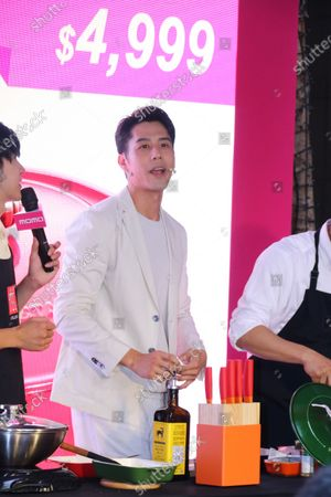 George Hu attends the momo 1111 brand carnival and promotes a brand German kitchen utensils
