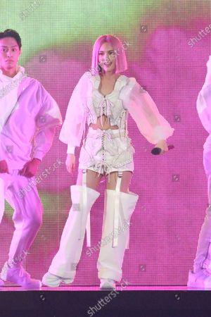 Editorial photo of Rainie Yang, 'Like A Star' in concert, Taipei Arena, Taipei, Taiwan, China - 08 Nov 2020