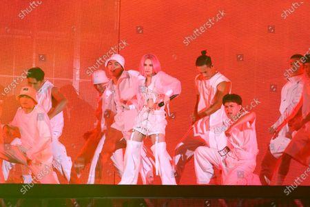 Editorial picture of Rainie Yang, 'Like A Star' in concert, Taipei Arena, Taipei, Taiwan, China - 08 Nov 2020