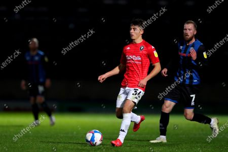 Editorial picture of Rochdale v Salford City, Papa John's Trophy, Group Stage, Football, Crown Oil Arena, Rochdale, UK - 10 Nov 2020