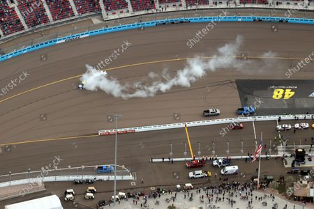 Editorial image of Jimmie Johnson races in his final NASCAR race, Phoenix, Arizona, USA - 08 Nov 2020