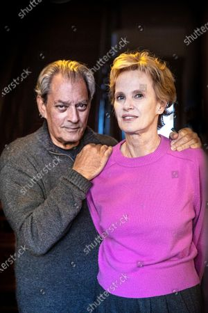 Editorial picture of Paul Auster and Siri Hustvedt photoshoot, Brooklyn, New York, USA - 31 Oct 2020