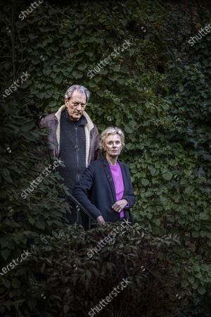 Editorial photo of Paul Auster and Siri Hustvedt photoshoot, Brooklyn, New York, USA - 31 Oct 2020