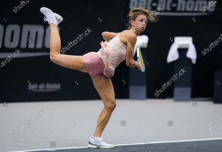 Stock Picture of Camila Giorgi of Italy in action during the first round at the 2020 Upper Austria Ladies Linz WTA International tennis tournament