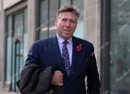 Sir Graham Brady, Chairman of the 1922 Committee, in Westmister.