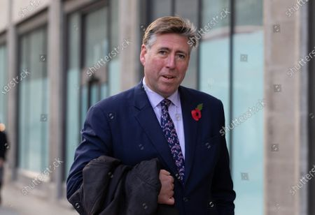 Stock Photo of Sir Graham Brady, Chairman of the 1922 Committee, in Westmister.