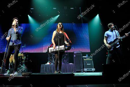 Cobra Starship - Gabe Saporta, Victoria Asher, and Alex Suarez
