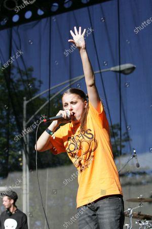 Editorial image of Lollapalooza Chicago festival, Day 1, Illinois, USA - 04 Aug 2006