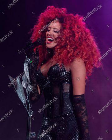 Editorial image of Love & Lightstream drive-in concert, Haute Spot, Cedar Park, TX USA - 07 Nov 2020
