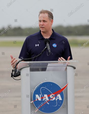 Administrator Jim Bridenstine speaks during a news conference after astronauts arrived at the Kennedy Space Center, in Cape Canaveral, Fla. Four astronauts will fly on the SpaceX Crew-1 mission to the International Space Station scheduled for launch on Nov. 14, 2020