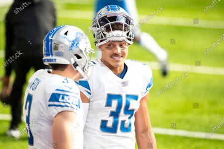 Editorial photo of Lions Vikings Football, Minneapolis, United States - 08 Nov 2020