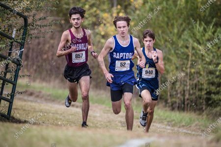 Editorial photo of High School Cross Country Texas UIL Region III Championships, USA - 09 Nov 2020