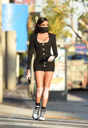 Editorial picture of Exclusive - Winnie Harlow out and about, Los Angeles, USA - 09 Nov 2020