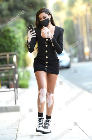 Editorial photo of Exclusive - Winnie Harlow out and about, Los Angeles, USA - 09 Nov 2020