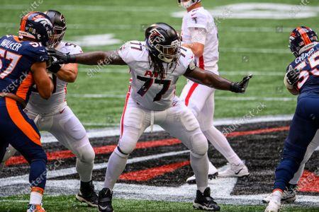 Editorial picture of Broncos Falcons Football, Atlanta, United States - 08 Nov 2020