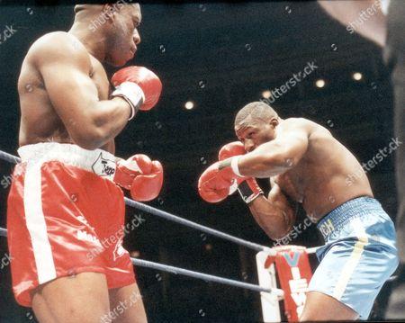 Gary Mason - Boxer - 1990 Boxer Gary Mason With James Pritchard At Albert Hall....