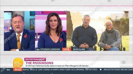 Piers Morgan, Susanna Reid, Sir Michael Parkinson