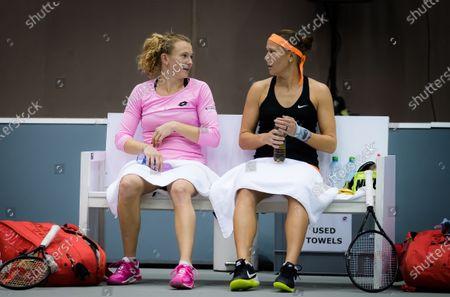 Editorial image of Upper Austria Ladies Linz Open Qualification, WTA Tennis, Linz Austria, 12 Nov 2020