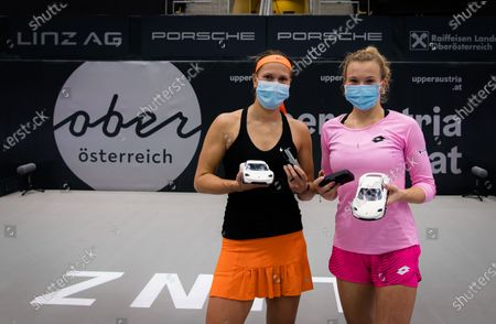 Editorial picture of Upper Austria Ladies Linz Open Qualification, WTA Tennis, Linz Austria, 13 Nov 2020
