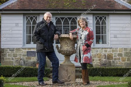 Editorial picture of Johnnie Walker and Tiggy Walker photoshoot, Dorset, England, UK - 03 Nov 2020