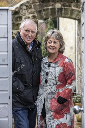 Editorial image of Johnnie Walker and Tiggy Walker photoshoot, Dorset, England, UK - 03 Nov 2020