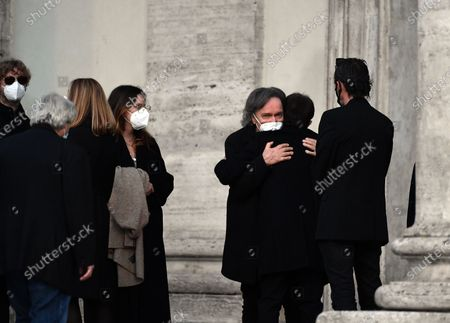 Editorial picture of Funeral of the drummer of the Pooh Stefano D'Orazio, Rome, Italy - 09 Nov 2020