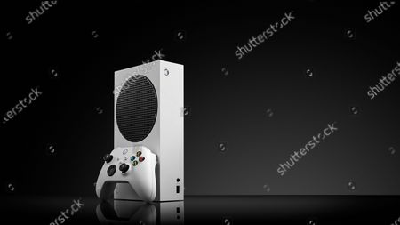 A Microsoft Xbox Series S home video game console, taken on October 27, 2020. (Photo by Phil Barker/Future Publishing)