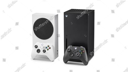 A pair of Microsoft home video game consoles, including an Xbox Series S (L) and Xbox Series X, taken on October 27, 2020. (Photo by Phil Barker/Future Publishing)