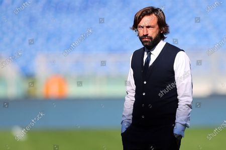 Andrea Pirlo head coach Juventus during the match