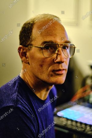 Stock Photo of Portrait of Canadian musician Dan Snaith, better known by his recording name Caribou, photographed at his studio in London on January 7, 2020. (Photo by Kevin Lake/Future Music Magazine)