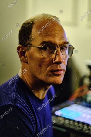 Stock Image of Portrait of Canadian musician Dan Snaith, better known by his recording name Caribou, photographed at his studio in London on January 7, 2020. (Photo by Kevin Lake/Future Music Magazine)