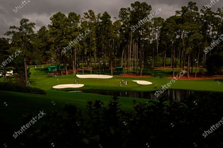 Editorial photo of Masters Golf, Augusta, United States - 10 Nov 2020