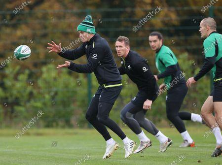 Editorial photo of Ireland Rugby Squad Training, IRFU High Performance Centre, Sport Ireland Campus, Blanchardstown, Dublin - 10 Nov 2020