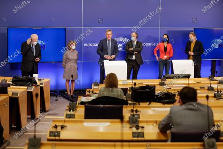 Editorial image of Press conference on the next MFF and Own Resources, Brussels, Belgium - 10 Nov 2020