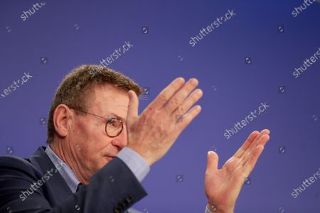 Editorial picture of Press conference on the next MFF and Own Resources, Brussels, Belgium - 10 Nov 2020
