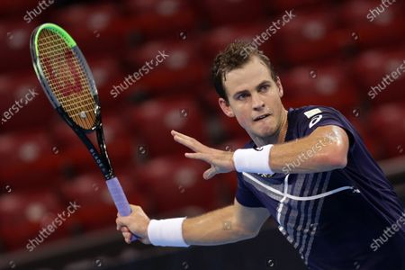 Editorial photo of 2020 Sofia Open, ATP 250, Arena Armeec Sofia, Bulgaria - 10 Nov 2020