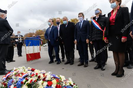 Editorial image of Tribute to General De Gaulle on the 50th anniversary of his death, Place Clemenceau, Paris, France - 10 Nov 2020