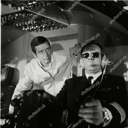 Joel Fabiani as Stewart Sullivan and Bernard Horsfall as Captain Carter