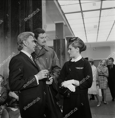 Al Mancini as Durres, Peter Bowles as Borowitsch and Geraldine Moffat as Janet