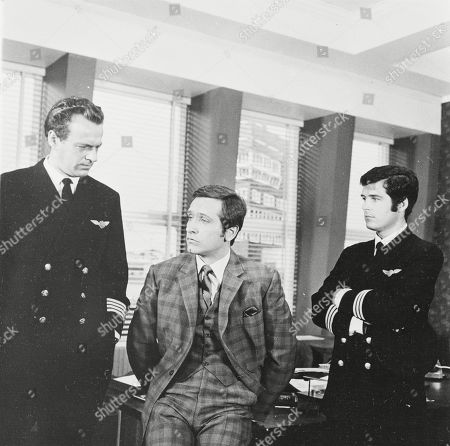Bernard Horsfall as Captain Carter and Joel Fabiani as Stewart Sullivan