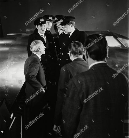 John Gabriel as Air Traffic Controller, Charles Houston as Stevens, Michael Stevens as A member of an airline crew and Bernard Horsfall as Captain Carter
